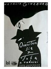 Polish poster by Roman Kalarus