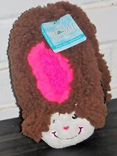 MONKEY Girl's Fuzzy Slipper Babba Sock by JACQUES MORET SIZE S/M Shoe 8 - 13 NWT