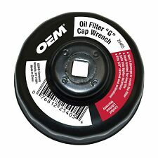 """OEMTOOLS 25405 """"G"""" Cap Style Oil Filter Wrench - 68mm,  14flutes"""