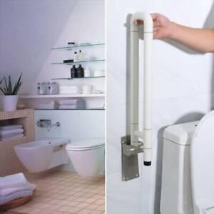 Toiletten WC Aufstehhilfe Toilettengriff Stützklappgriffe Handgriff Badzimmer HO