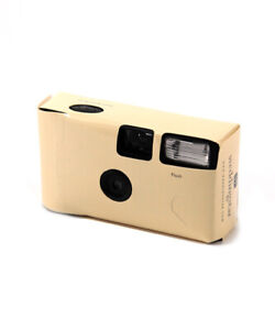 Disposable Camera with Flash Cream Colour Pack of 10 Favour Gift