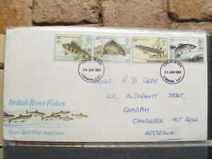 1983 ROYAL MAIL BRITISH RIVER FISHES FIRST DAY COVER
