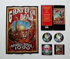 Grateful Dead Without A Net Limited Edition Picture Disc CD Poster Rick Griffin