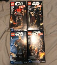 Lego Star Wars Buildable Figure Lot