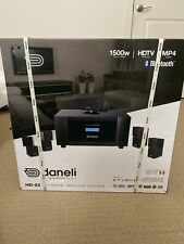 Daneli Acoustics HD-52 5.1 Home Theater Speaker System NEW UNOPENED $2477 Value