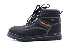 DOCKERS Stiefeletten Boots Gr. 36 UK 3 Schwarz Leder Gefüttert + Kaum getragen