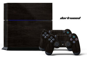 Designer Skin for PS4 Playstation 4 Console + Dualshock Controller Decals D-WOOD