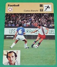 FOOTBALL CARLOS BIANCHI PARIS SAINT-GERMAIN PSG 1978-1979