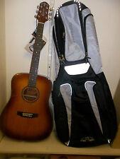 Crafter Hilite D/SP vtg acoustic guitar & gigbag brand new. Waranteed. setup..