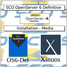SCO Unix OpenServer 6 Definitive O.S. - Installation Media on CDROM