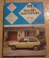 revue technique l'expert automobile N°181 AUSTIN MINI METRO + FICHES TECHNIQUES