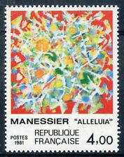 STAMP / TIMBRE FRANCE NEUF N° 2169 ** ART TABLEAUX A. MANESSIER