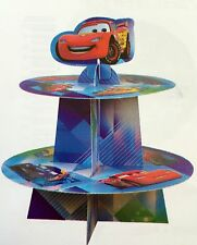 DISNEY CARS CUPCAKE CAKE STAND BIRTHDAY PARTY DECORATION TABLE LOLLY LOOT BAG