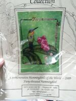 Crossed Wing Collection Hummingbirds World 2009 Counted Cross Stitch Pattern NIP