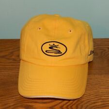 Cobra J Speed Hat yellow golf strapback embroidered cap king jr driver putter
