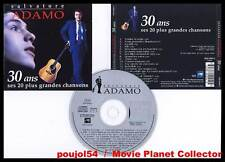 "SALVATORE ADAMO ""30 Ans"" (CD) 1993"
