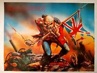 Iron Maiden The Trooper Original Vintage Poster