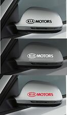 For Kia - 2 x KIA MOTORS Wing Mirror - CAR DECAL STICKER RIO CEE'D - 95mm long