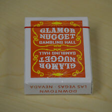 Glamor Nugget Gambling Hall Orange Playing cards Deck brand new sealed
