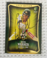 David Warner Australia National Cricket Trading Cards