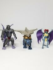 Rare 1995 Bvtv Gargoyles Action Figures! 3 Action Figure Lot Everything Pictured