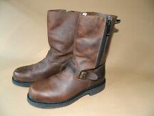 John Deere Side Zip Boots Mens 10 D Heavy Duty