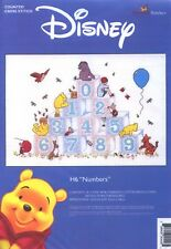 Classic Winnie the Pooh - Numbers Sampler Cross Stitch Kit *NEW*