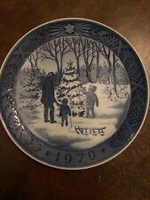 Royal Cooenhagen Christmas Plate 1979 With Original Box