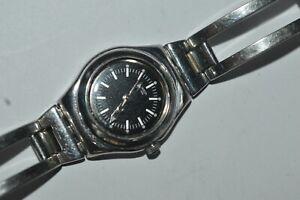 Swatch Watch Irony Lady YSS112G FRIVOLE 2007 Swiss Quartz Stainless Steel
