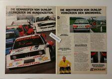 Werbeanzeige/advertisement A4: Dunlop-Breitreifen Rennreifen 1981 (110416271)