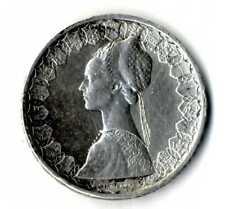 Moneda Italia 1958 plata .835 500 Liras  silver coin ref.02