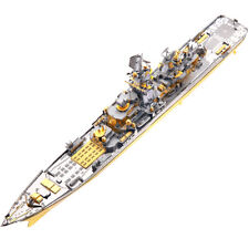 Piececool Russian Battlecruiser Pyotr Velikiy 3D Metal Puzzle DIY Model Kit toy