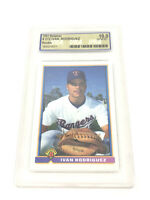 1991 Bowman Ivan Pudge Rodriguez USA Graded Gem Mint 10 Rookie Card 157-L