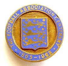 g350 UK England Football Association FA Centenary pin 1863-1963 RRR
