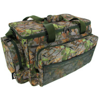 NEW NGT  CAMO GREEN CARP COARSE FISHING TACKLE BAG HOLDALL INSULATED