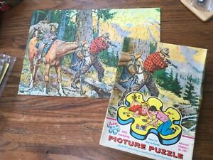 """Vintage TUCO Puzzle """"A SPORTING CHANCE"""" 100 Piece complete w/Box"""