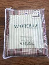 Waverly Fairfield Valance Crimson Yacht Club