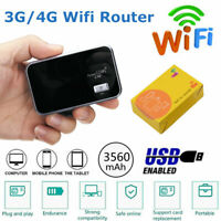 3560mAH Portable 4G LTE Wifi Wireless Router Unlocked Cat4 Mobile Hotspot Modem