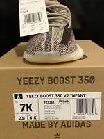 NEW Adidas Yeezy Boost 350 V2 'ZYON' - US Infant Toddler SZ 7K **100% AUTHENTIC*