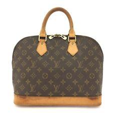 100% Authentic Louis Vuitton Monogram Alma Tote Hand Bag Purse /40874