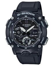 Casio G-Shock * GA2000S-1A Carbon Core Guard Black Anadigi Watch for Men
