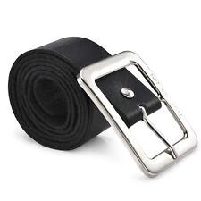 Men's Genuine Leather Trouser Belt Casual Pin Buckle Waist Strap Belts Waistband