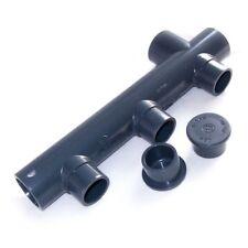 3-fach Verteiler 40x50mm für Wasser aus Kunststoff