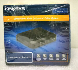Linksys DPC3008 Advanced Cable Modem Comcast Certified Only New Sealed