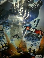 LEGO Millenium Falcon STAR WARS TFA Toys R Us PROMO EVENT 5/9/16  FREE POSTER