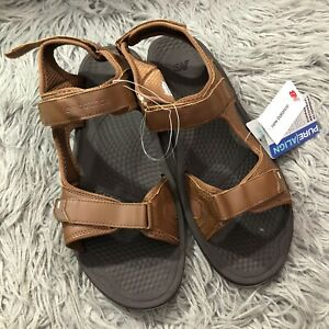 NWT New Balance PureAlign Recharge M2080 Sandal - Men's Size 18D Brown