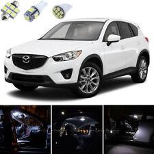 11pcs Xenon White Interior LED Light Package Kit Deal For Mazda CX-5 2013-2015