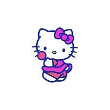 Pegatina Autoadhesiva Niño Hello Kitty