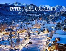 Colorado - ESTES PARK - Travel Souvenir Flexible Fridge Magnet