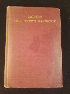 "Modern Shipfitter's Handbook by W. E. Swanson ""Master Shipiftter"" 1941 4th Print"